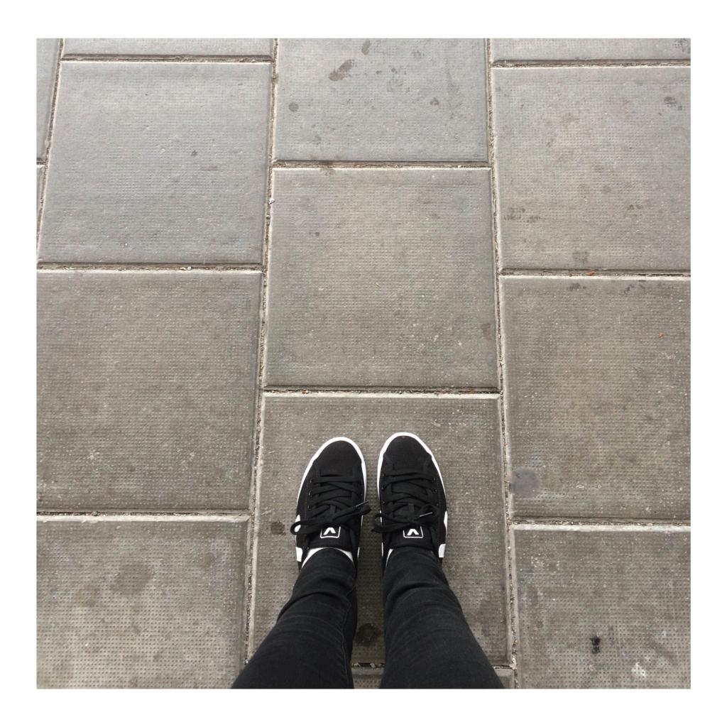 Black & White Veja Vegan Sneakers