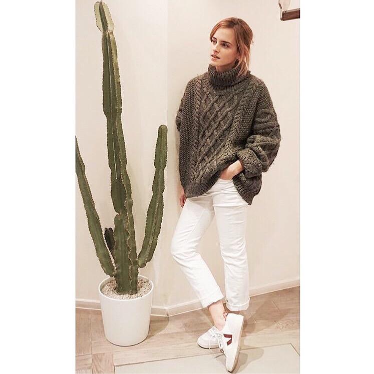 Emma Watson / Veja Sneakers