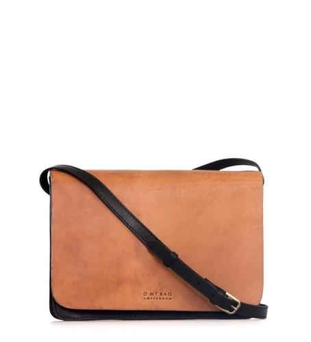 O My Bag - The Audrey Bag, Black/Camel