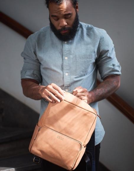 O My Bag - John Backpack Midi, Camel