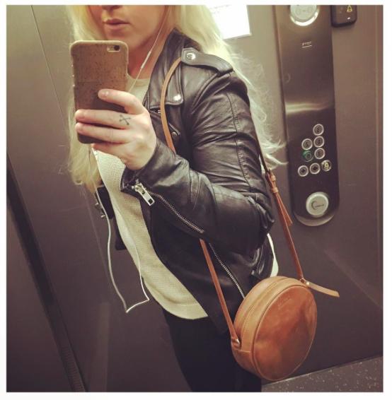 O My Bag - Luna Bag / Deadwood - Biker Jacket