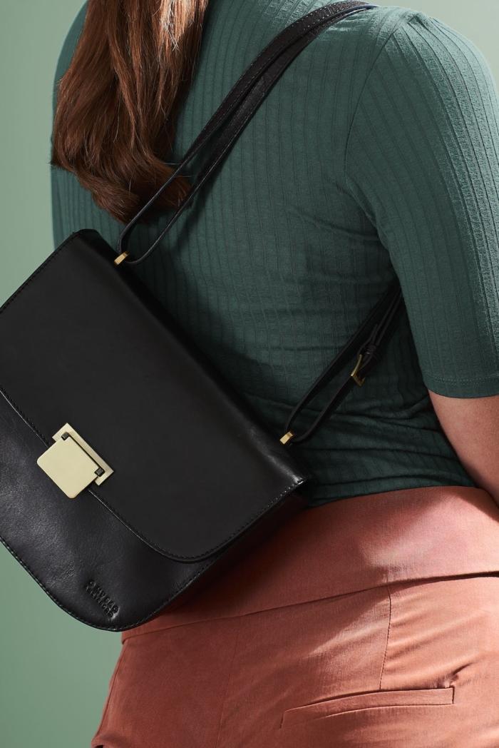 O My Bag - The Meghan, black